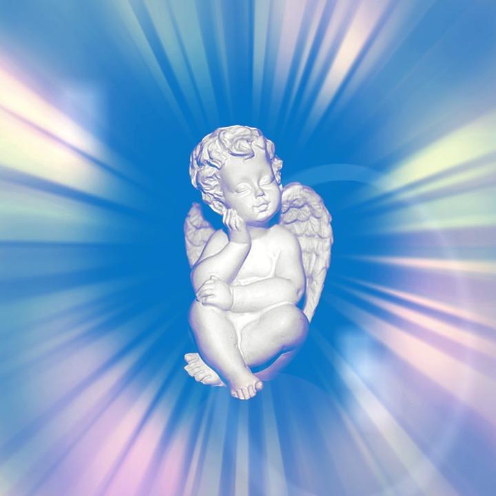 Spiaci anjel ako symbol ochrany