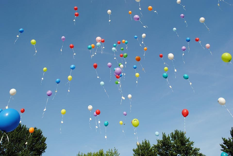 Vznášajúce sa balóny